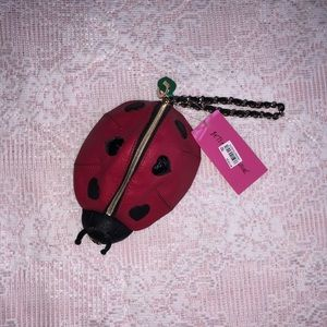 NWT-BETSY JOHNSON- ladybug wristlet